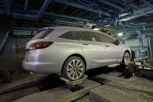 Astra V - test mróz